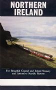 Downhill, Benone Strand Beach and Train Travel Poster, Donegal in the background